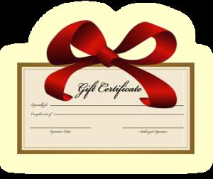 Cock Repair Gift Certificate