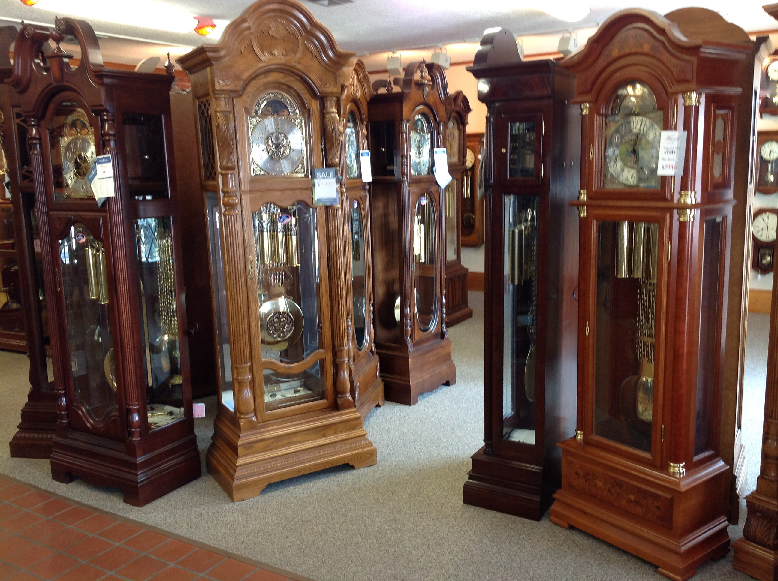 Grandfather-clock-showroom2